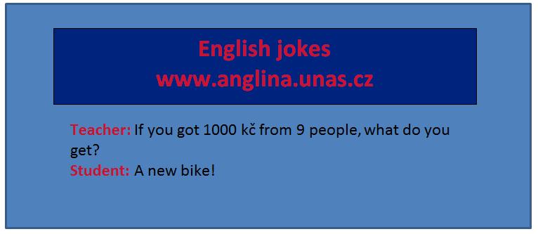 Angličtina online a zdarma - rozdíl mezi Need a Must na www.Anglina.uNas.cz - english jokes zdarma a online - modální slovesa