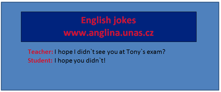 Angličtina online a zdarma - Anglická zájmena - na www.Anglina.uNas.cz - english jokes zdarma - Object pronouns, subject pronouns, possessive pronouns