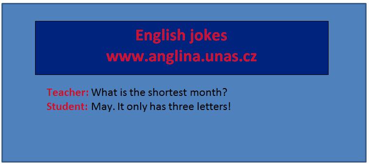 Angličtina online a zdarma - rozdíl mezi All day a Every day - na www.Anglina.uNas.cz - english jokes zdarma - navíc everyday není to stejné jako Every day