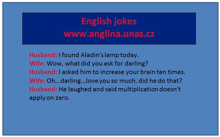 Angličtina online a zdarma - Modální sloveso Should - na www.Anglina.uNas.cz - english jokes zdarma - další modální slovesa Can Could Should Must Have to