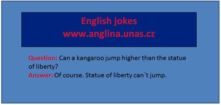 Angličtina online a zdarma - Vzájemná zájmena - na www.Anglina.uNas.cz - english jokes zdarma - další skupina zájmen anglické věty na procvičení