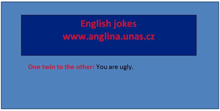 Angličtina online a zdarma - Rozdíl mezi Must a Have to - na www.Anglina.uNas.cz - english jokes zdarma - modální sloveso Must, modální sloveso Have to, Rozdíl mezi Have to a Must