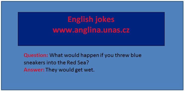 Angličtina online a zdarma - Angličtina od začátku - na www.Anglina.uNas.cz - english jokes zdarma - angličtina pro začátečníky