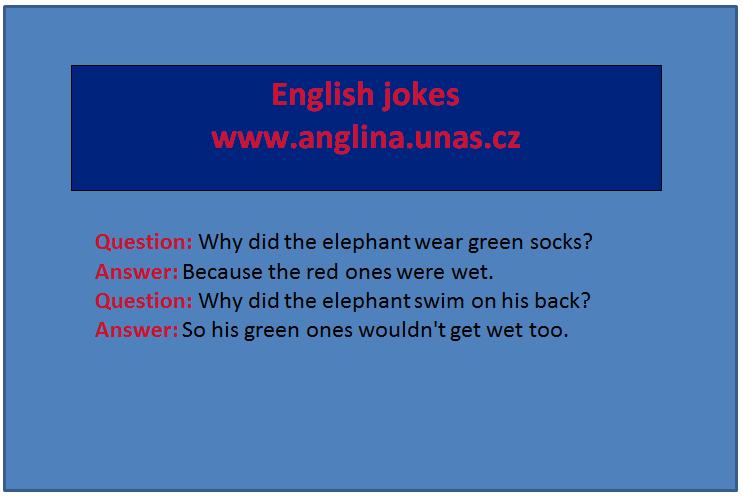 Angličtina online a zdarma - Anglická nejpoužívanější přídavná jména - na www.Anglina.uNas.cz - english jokes zdarma - přídavná jména seznam - přídavná jména nejspoužívanější anglická