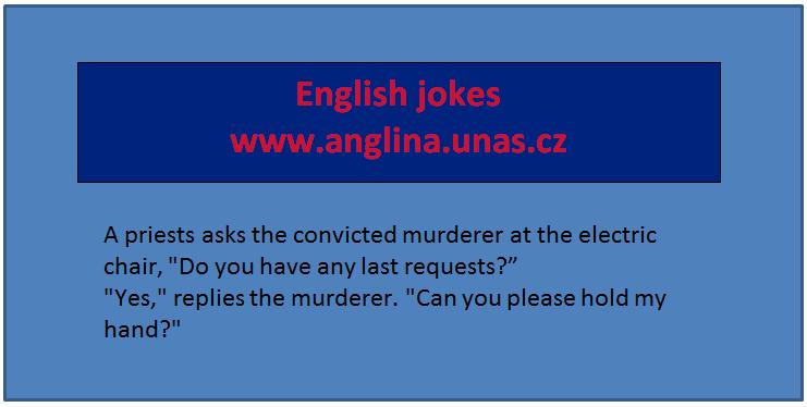 Angličtina online a zdarma - Jak se jednoduše naučit anglicky online a zdarma - na www.Anglina.uNas.cz - english jokes zdarma  - jak se naučit anglicky jednoduše