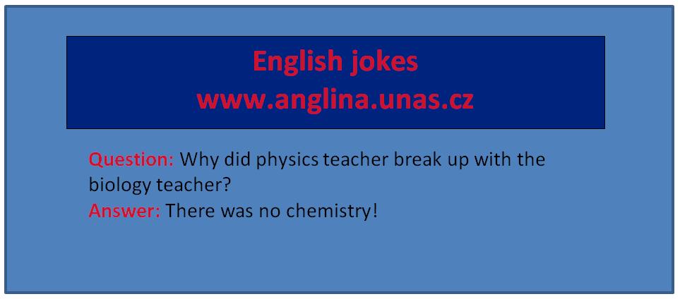 Minulý čas prostý - Nejlepší anglické vtipy na English Jokes - Angličtina online a zdarma