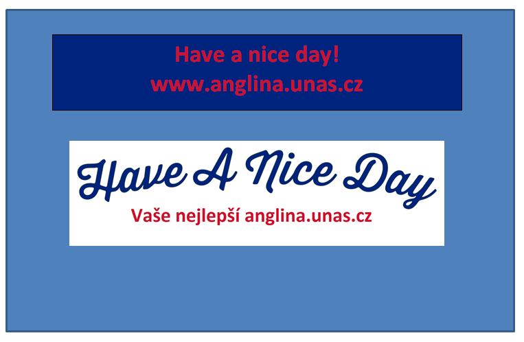 Angličtina online a vše zdarma - English verbs have / have got