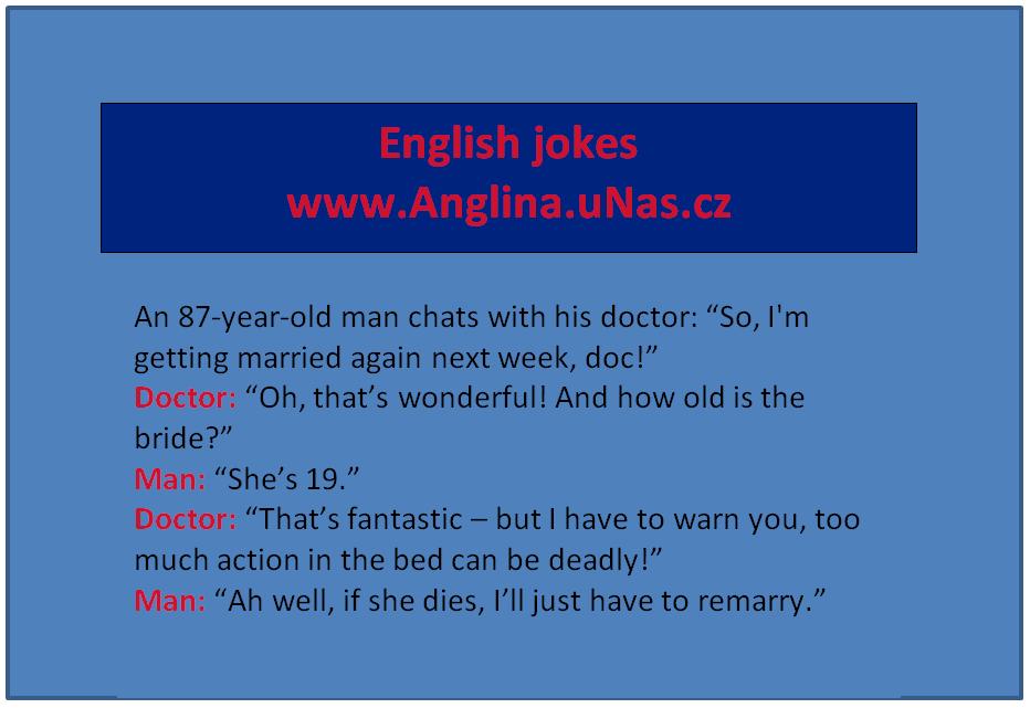 English Jokes na nejlepší Anglina.uNas.cz - Porovnávání pomocí přídavných jmen